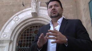 L'assessore all'Ambiente del X Municipio Alessandro Ieva